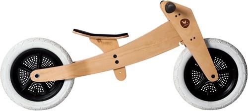 Wishbonebike  houten loopfiets 2 bikes in 1