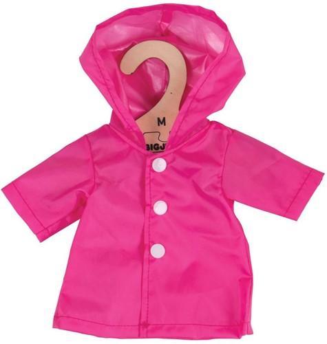 Bigjigs Pink Raincoat - Medium