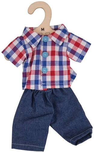 Bigjigs Checked Shirt and Jeans - Medium