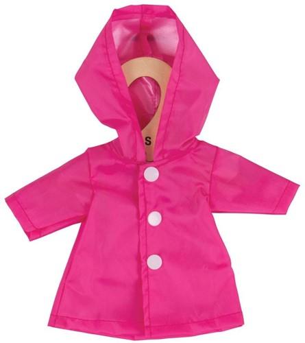 Bigjigs Pink Raincoat - Small