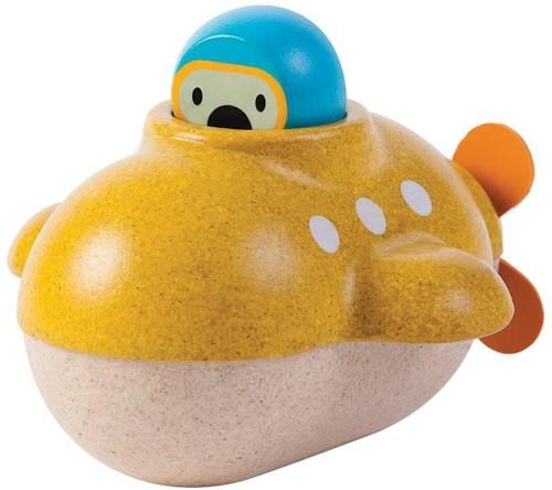 Plan Toys houten badspeelgoed Duikboot