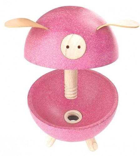 Plan Toys  kindermeubel spaarpot Piggy bank - Pink