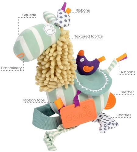 Dolce Toys Lama - Pastel