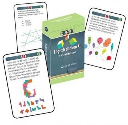Schoolsupport leerkaarten Quiz it! Logisch denken XL