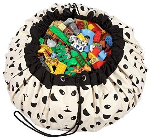 Play&Go  speelgoed opbergzak Panda design