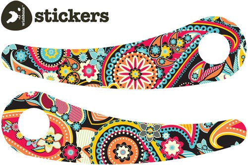 Wishbonebike loopfiets accessoires Stickers Paisley Recycled