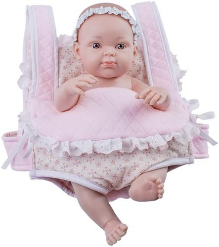 Paola Reina kledingset Mini Pikolin Mochila Rosa 32 Cm
