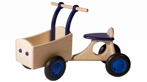 Van Dijk Toys Bakfiets, blauw